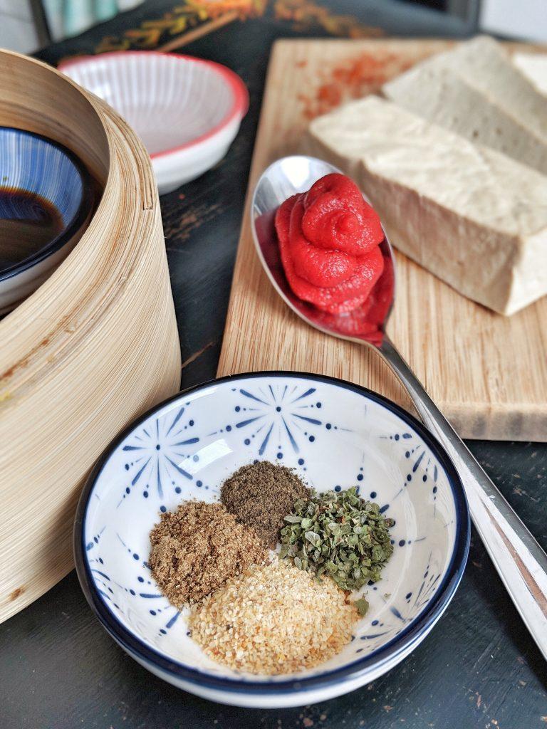 Sweet & smoky BBQ tofu - vegan & gluten free